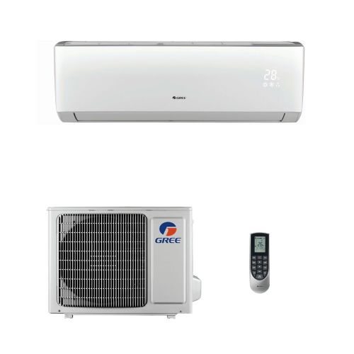 "Gree Air Conditioning GWH12QC ""LOMO Series"" Wall Mounted Inverter Heat Pump (3.5Kw/12000Btu) A++ 240V~50Hz"